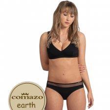 Slip Jazz Transparency in organic cotton Comazo