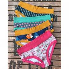 Slip senza elastici Panties Colorio Organics tg L in cotone biologico