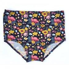 Slip Panty Vintage a Vita Alta tg L in cotone biologico