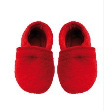 Slippers for baby in organic wool