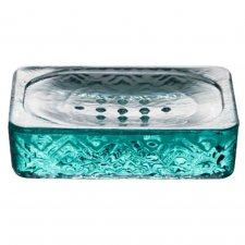 Soap dish Nihon in recycled glass