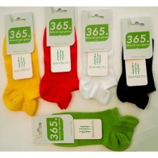 Low cut socks Coloured in bamboo