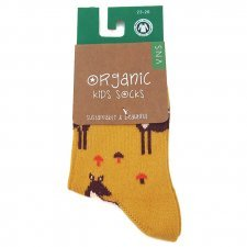 Socks in fair trade organic cotton Fawn