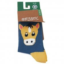 Socks in fair trade organic cotton Horse