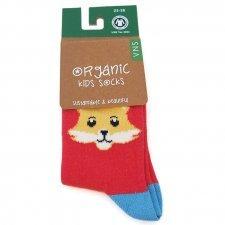 Socks in fair trade organic cotton Kitty