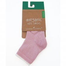 Socks in fair trade organic cotton Pink