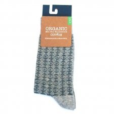 Socks in fair trade organic cotton Tribal