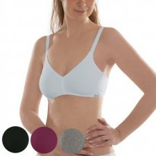Bra wireless in organic cotton