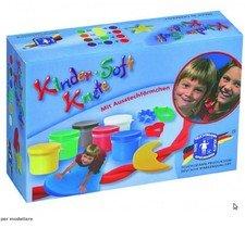 Soft play dough - 6 pots