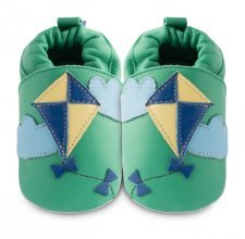 Soft sole leather baby shoes Kite