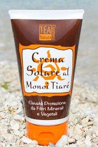 Solari: Crema solare alta protezione al Monoi Tiarè