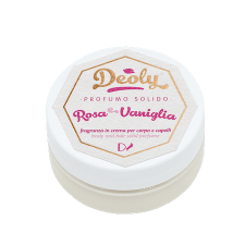 Solid Perfume Deoly Rose and Vanilla for body and hair