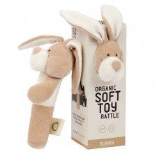 Sonaglio Bunny in cotone biologico