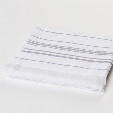 Spa sauna hand towel white in organic cotton