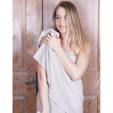 Spa towel in organic cotton 70x170cm