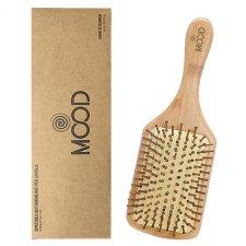 Spazzola per capelli Rettangolare in legno