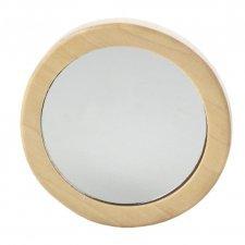 Specchietto da borsetta Avril in legno