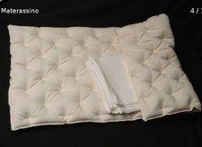 Spelt husk mattress for crib