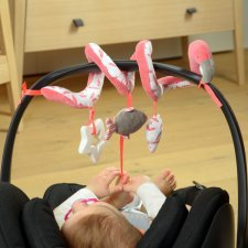 Spiraltoy Flamingo in organic cotton