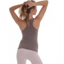 Sport top in bamboo and starch