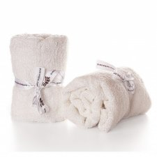Square Bamboo Terry Towels - 2 pcs 60x60