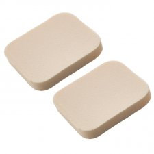 Square latex makeup sponges x2