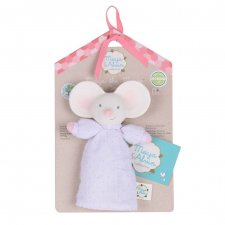 Squeaker Meiya the Mouse in natural rubber and organic cotton