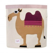 Storage Bin Camel 100% cotton