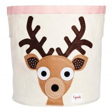 Storage Bin Fawn 100% cotton
