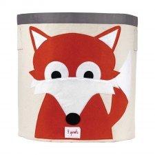 Storage Bin Fox 100% cotton