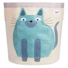 Storage Bin Cat 100% cotton