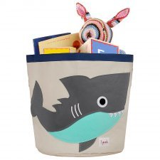 Storage Bin Shark 100% cotton