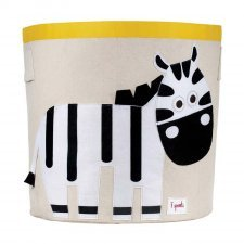 Storage Bin Zebra 100% cotton