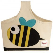 Storage Caddy Bee 100% cotton