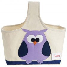 Storage Caddy Owl 100% cotton