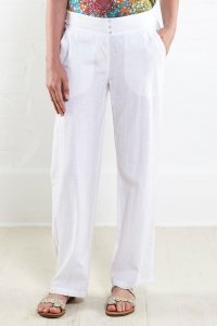 Straight leg trouser Nomads in fair trade cotton