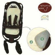 Stroller pad 3D in wool
