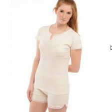 Summer short pyjamas in organic cotton