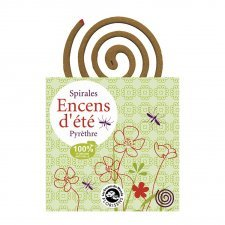 Summer spirals incense 100% natural