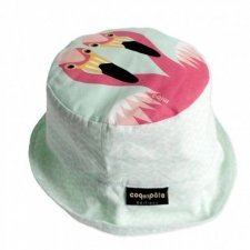 Sun hat Mibo Flamingo in organic cotton