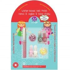 Suncoat lip gloss nail sparkle kit for children Holiday Magic