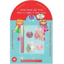 Suncoat lip gloss nail sparkle kit for children Jingle Lingle Sparkle
