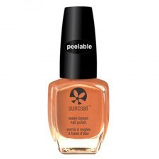 Suncoat the Peelables nail polish water based - Coral Reef