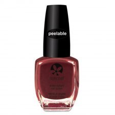 Suncoat the Peelables nail polish water based - Mulberry