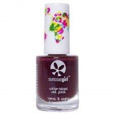 Suncoat peelable nail polish girl - Twinkled Purple