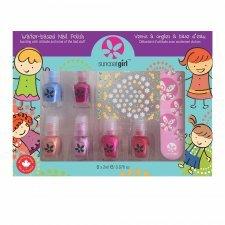 Suncoat children Pack of 6 mini nail polish set Mini Mani