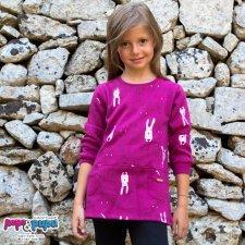 Sweat dress/maxi shirt Raby in organic cotton