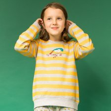 Sweat shirt girl Leotie Bird in organic cotton