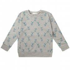 Sweat shirt Finn Deer in organic cotton