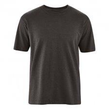 T-shirt Basic in Canapa e Cotone Biologico Nero